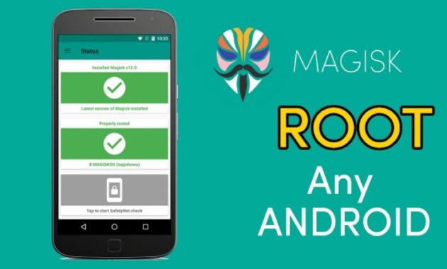cara root hp android tanpa pc - magisk root
